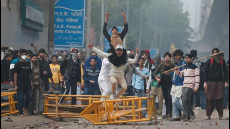 Jamia Millia Islamia students called off their university lockdown against the new citizenship law on Saturday, a day after violent protests rocked the campus area, even as the varsity cancelled exams and announced vacation till January 5 in view of the tension. (Photo: File)