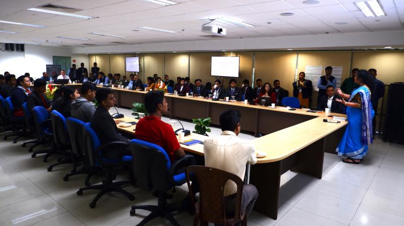 Over 80 staff benefitted from the training, which covered various techniques and methods of handling people with special needs. (Photo:  RAJIB CHOWDHURI)