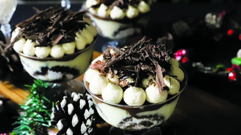 Baileys Tiramisu Trifle