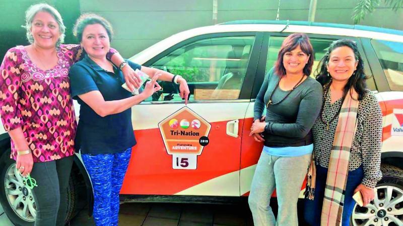 Anita Prabhakar, Dr Savita Date, Nisha Bilgrami and Moushumi Gupta