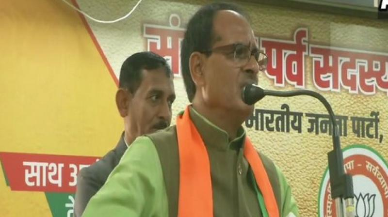 Speaking at an event here, the former Madhya Pradesh Chief Minister said that Modi has given a new lease of life to the non-Muslim refugees. (Photo: ANI)