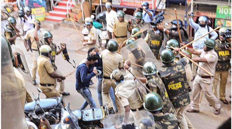 Sending out a stern warning, Karnataka Revenue Minister R Ashoka on Thursday said the state government would emulate Uttar Pradesh and confiscate properties of those who caused damage to public properties during protests against the Citizenship (Amendment) Act. (Photo: File)