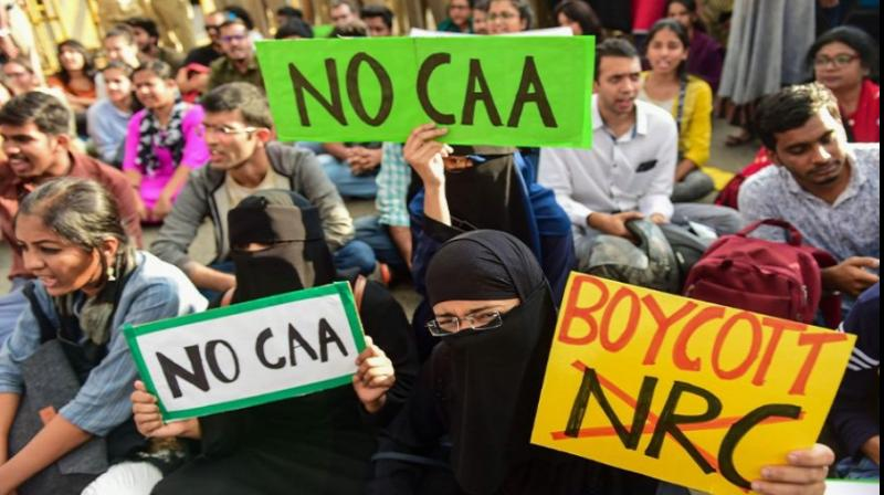 India legalised Islamophobia with CAA in December 2019. Since then, citizens — especially Muslims — across India have organised for the rollback of this and the National Population Register and the proposed nationwide National Register of Citizens. (Photo: PTI)