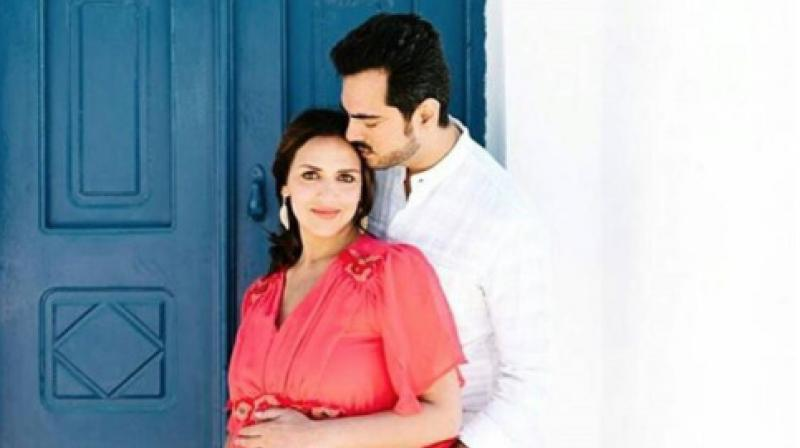 Esha Deol and husband take 'pheras' again at her baby shower