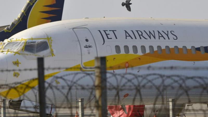 Jet Airways aircraft (PTI File)