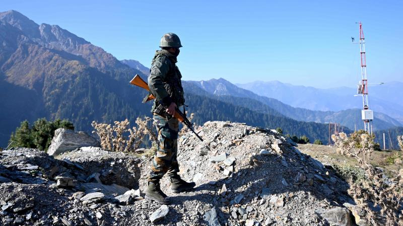 "Army sources said it is not yet clear if the soldier, identified as Jasvir Singh, who has since been brought to Srinagar's 92 Base Hospital for specialised treatment, was injured due to the firing from across the LoC by militants attempting to breach the divide line or due to ""mistaken firing"". — Representational image/AFP"