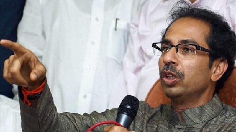 Shiv Sena President Uddhav Thackeray. (Photo: PTI)