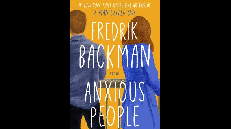 Cover image of the book titled 'Anxious People'