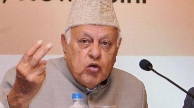 Former Jammu & Kashmir chief minister and National Conference president Farooq Abdullah. (Photo: PTI/File)