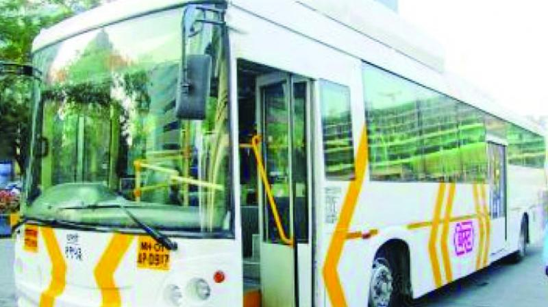 The 25 hybrid buses procured by the MMRDA were launched in March this year, each costing Rs 1.65 crore.