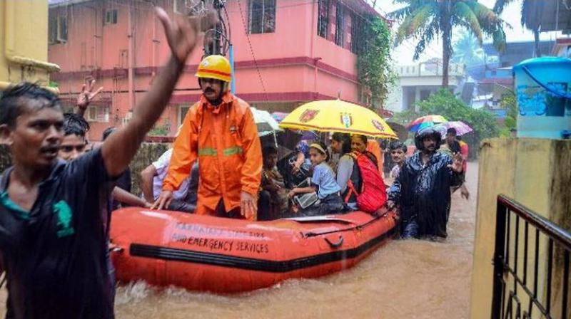 At least two people have died as Belagavi, Bagalkot, Vijayapura and Raichur districts in the north, Uttara Kannada and Dakshina Kannada in the coast and Shivamogga and Chickamagaluru in the Malnad or hill region have been hit amid torrential rains. (Photo: PTI)