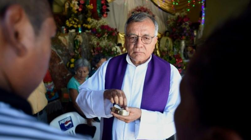 In all, 21 priests have been murdered in Mexico since President Enrique Pena Nieto took office in 2012, according to Church statistics. (Photo: AFP)