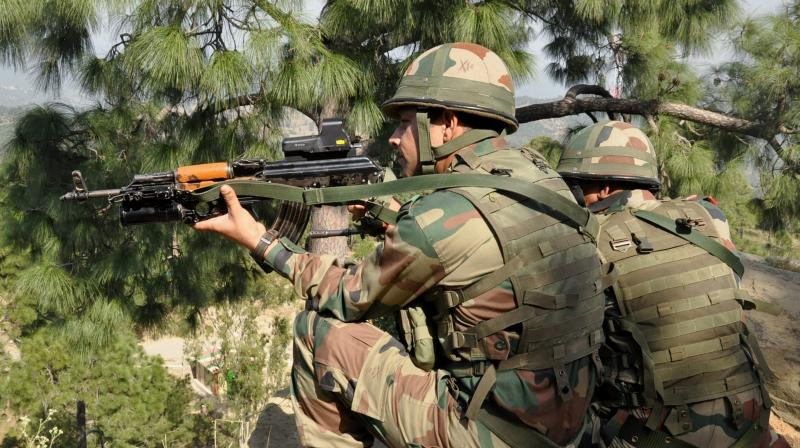 Recently, the Indian Army rejected an indigenously-built assault rifle, citing poor quality and ineffective firepower, and is soon likely to take a fresh call on procuring similar weapons to replace the INSAS rifles. (Photo: PTI)