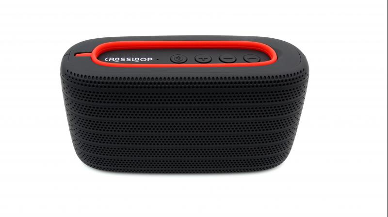 The speaker is light enough to carry on a camping trip, & remains durable enough to tumble in a bag unprotected.