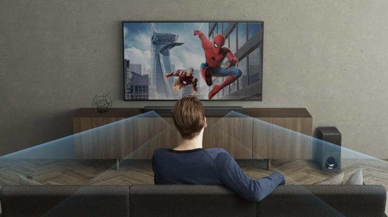 The recently launched HT-Z9F sound bar by Sony is the first in India to feature Dolby Atmos sound output.