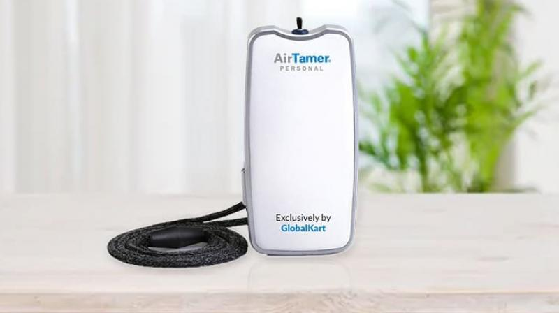 Air Tamer emits a constant stream of healthy negative ions that force airborne pollutants away from your personal space giving you a zone of cleaner, healthier air.