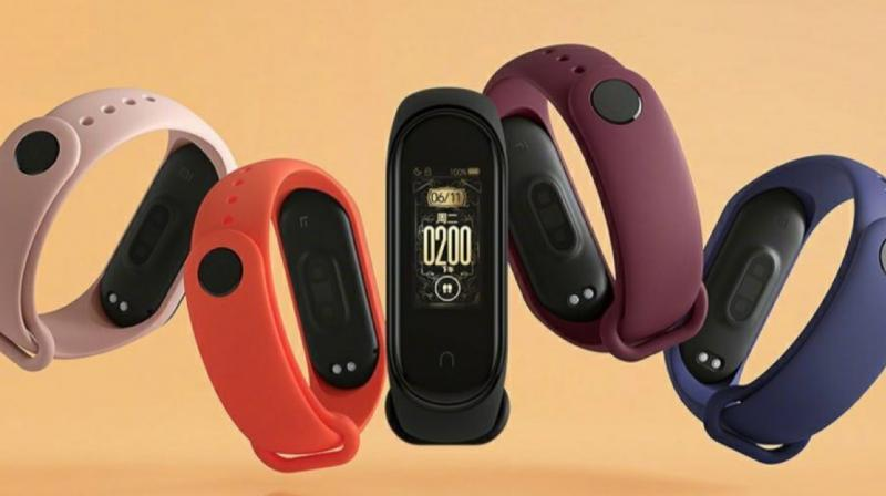 You can change the removable strap on the Mi Band 4 and use one from the many colourful options to choose from.
