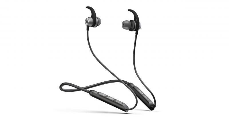 The magnetic earbuds secure the earphones from falling and keeps them safe when not in use.