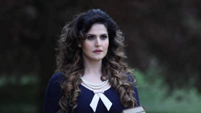 Zareen Khan in a still from '1921'.
