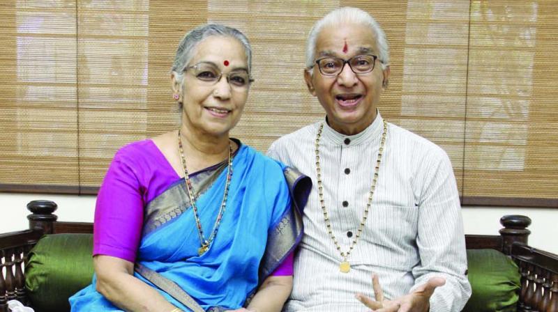 VP Dhananjayan and Shanta Dhananjayan (Photo: N. Vajiravelu)