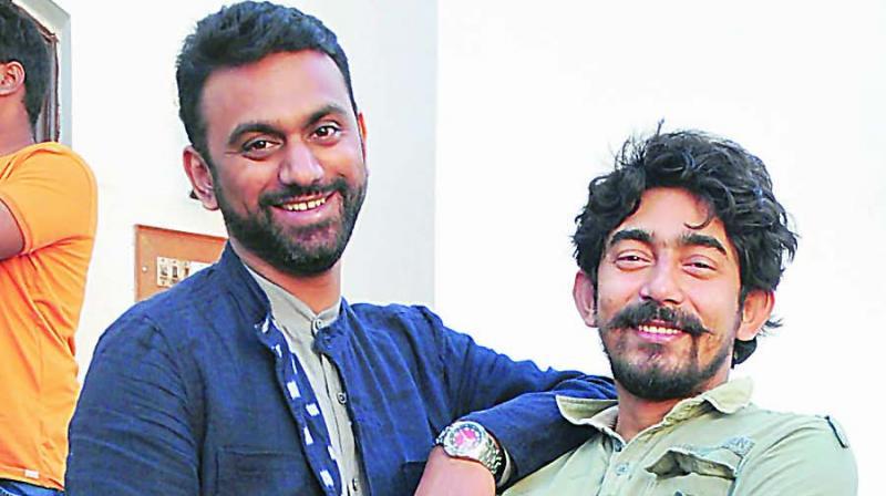 Curators Premjish Achari and Dhritabrata Bhattacharjya Tato