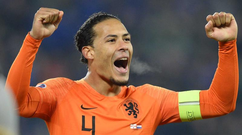 Defender Virgil van Dijk says the Netherlands are 'back where they belong' after sealing automatic qualification for the 2020 European Championship. (Photo:AFP)