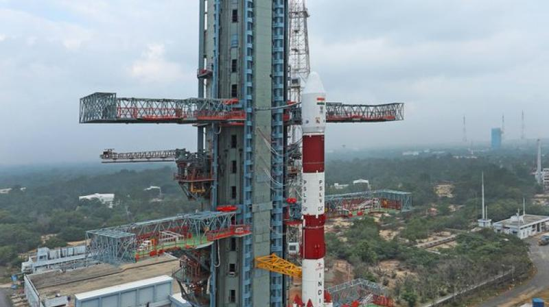The agency had planned for the launch of CARTOSAT-3 satellite, ninth in the series, from the second launch pad at spaceport of Sriharikota, about 120 kms at 09.28am. (Photo: ISRO)
