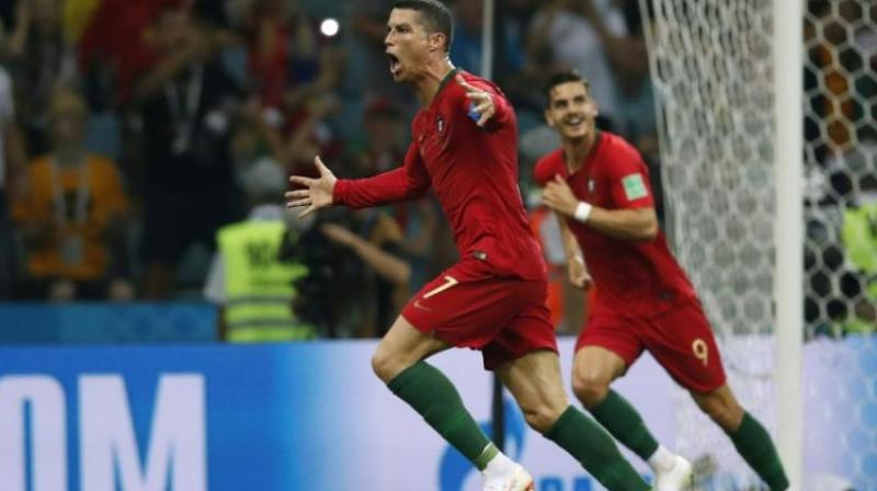 Ronaldo scored a hat-trick in the semi-final against Switzerland (Photo: AFP)