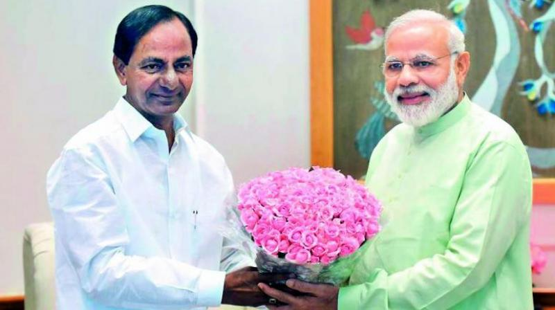 KCR too met Prime Minister Narendra Modi recently, leading to speculation that state polls were discussed. (Photo: File)