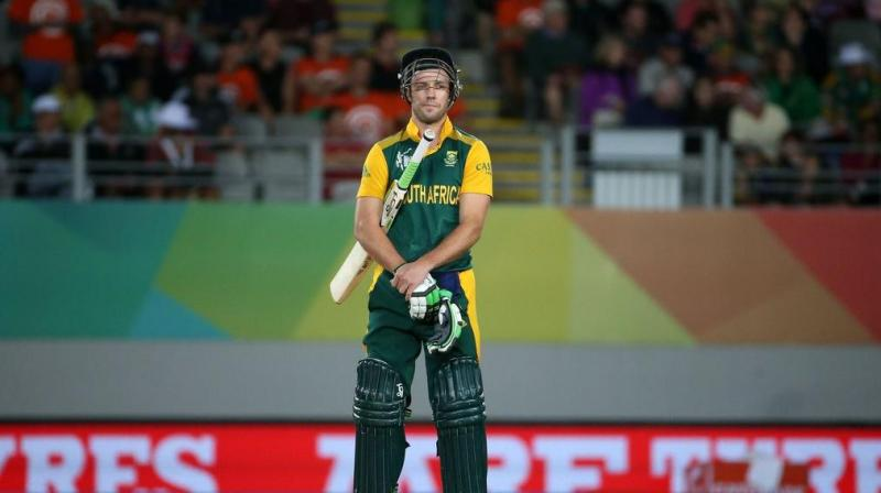 However, when it comes to mega tournaments like the ICC cricket World Cup – history has proven how inconsistent and incapable the South African team is when it comes to handling pressure. (Photo:AFP)