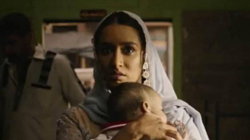 Shraddha Kapoor in and as 'Haseena Parkar.'