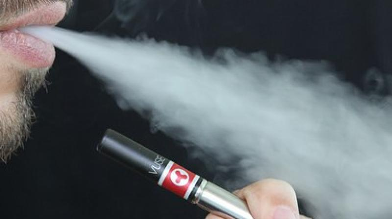 "US health officials announced a breakthrough Friday into the cause of a mysterious outbreak of vaping illnesses, reporting they have a ""very strong culprit."" (Representational Image)"