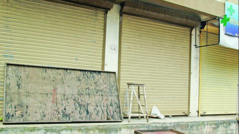 The shop where explosives were stored.	(Photo: Mrugesh Bandiwadekar)