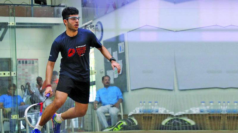 Veer was around three months old when he had his first trip to the courts, while senior Chotrani was in his prime taking down opponents.