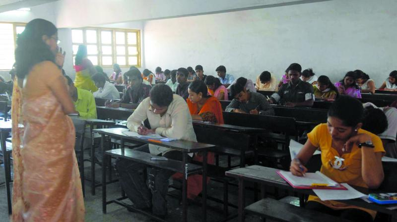 'All the government and private schools in the district are directed to ensure the teachers turn off their mobile phones and submit it in the offices before class,' said the Director of Education. (Photo: File I Representational)