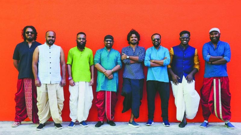 The band performs basically in the genres of Indian folk, blues, pop and rock.