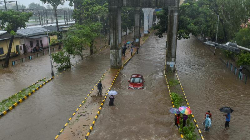 The India Meteorological Department (IMD) has predicted heavy to very heavy rain till Thursday. (Photo: PTI)