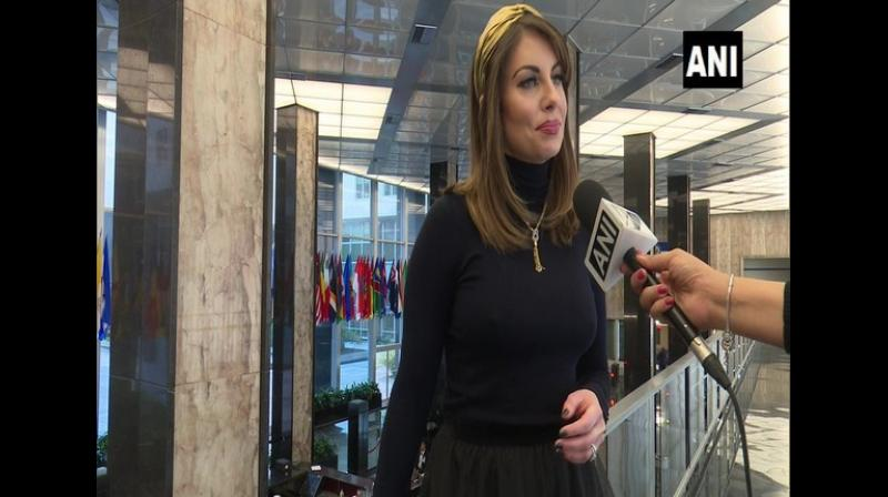 US State Department Spokesperson Morgan Ortagus on Wednesday said, 'India has a free press. India has a vibrant democracy. India has the ability for the court system to review all legislations. So, what you are saying and what we are observing is that a vibrant democracy that is debating and that is discussing this bill. First and foremost, you don't have that kind of conversation in most countries. The fact is that the world's largest democracy is debating so openly and publicly.' (Photo : ANI)