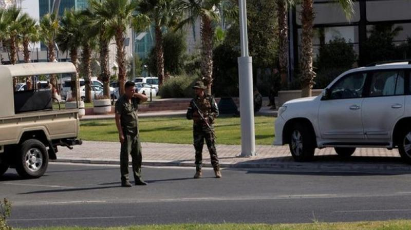 'Today, in the second half of the day, an employee of our consulate in Erbil died as a result of an attack. He was outside the embassy building,' said a statement by the Turkish Foreign Ministry cited by Sputnik. (Photo: ANI)
