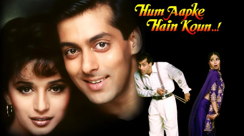 'Hum Aapke Hain Koun..!' poster.