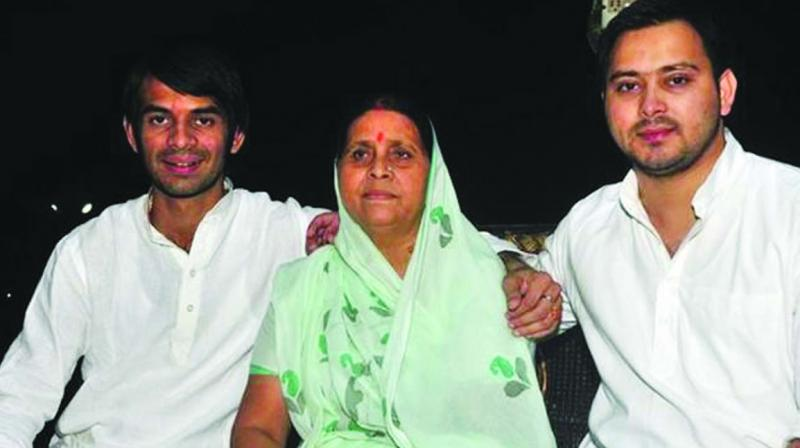 Sources close to Lalu family said he has been upset with his younger brother for fielding his estranged father – in law Chandrika Rai from Saran. (Photo:File)