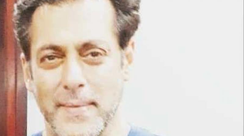 Salman Khan in Dubai.