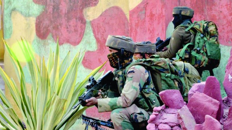 The Army's role in containing terrorism and defusing militant plots against the nation is unenviable. (Photo: PTI/Representational image)