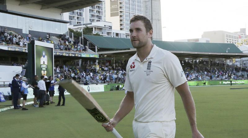 Dawid Malan hit a maiden century in an unbeaten 174-run stand with Jonny Bairstow as England took the honors on the opening day of the third Ashes test at the WACA on Thursday.(Photo: AP)