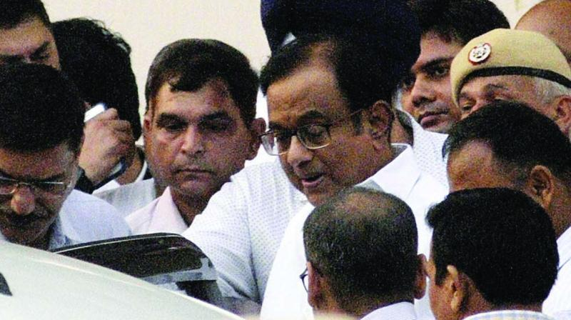 Senior Congress leader and former finance minister P. Chidambaram (Photo: Pritam Bandyopadhyay)