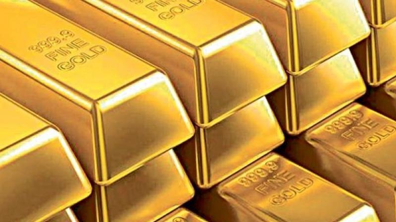 Globally, gold fell by 0.01 per cent.