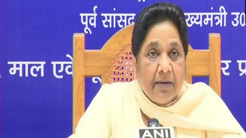 BSP Chief Mayawati on Friday hit out at Congress government in Rajasthan over the acquittal of the six accused in Pehlu Khan lynching case. (Photo: File)