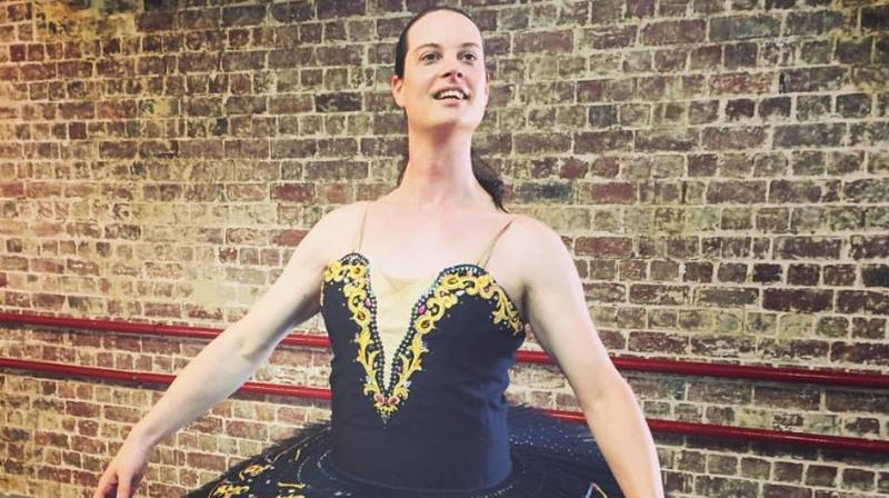 A former male racing driver has become one of the first openly transgender ballet students to pass a Royal Academy of Dance exam. (Photo: )