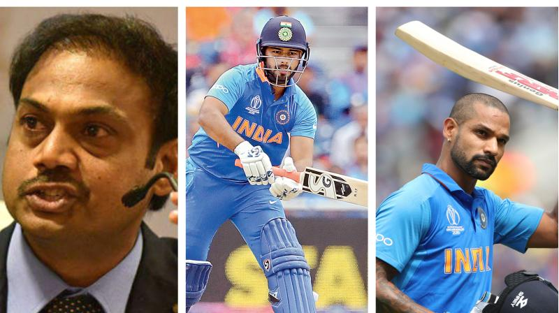 MSK Prasad also disclosed why KL Rahul was promoted to open the batting for India, while Vijay Shankar was reserved for the number four position. (Photo: AP/AFP/PTI)
