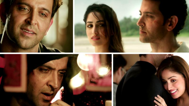 Video grabs from the second trailer of 'Kaabil'.
